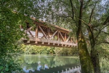 Brücke in Ketsch