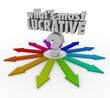 Whats Most Lucrative Words Question Mark Arrows Choose Best Inve