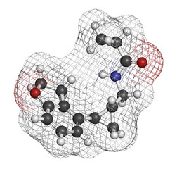 Tasimelteon sleep disorder drug molecule