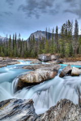 Kicking Horse River in Yoho National Park, Canada