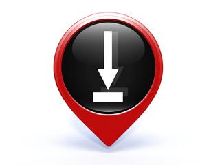 download pointer icon on white background