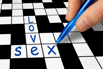 Crossword - Love and Sex