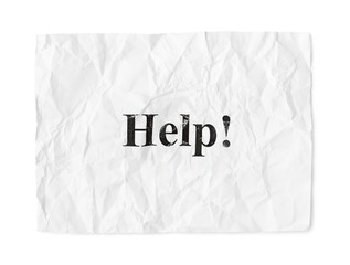 Crumpled paper Help