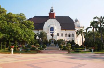Phra Ram Ratchaniwet Palace, Phetchaburi Thailand