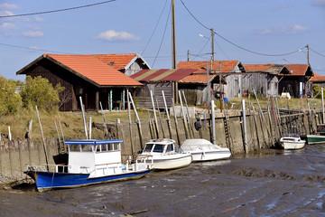 Port of Larros in France
