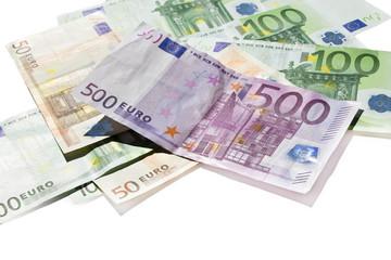 euros isolated