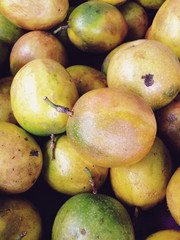 Passion fruit in the market.