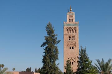 Koutoubia Mosque in Marrakesh