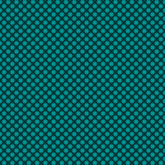 Seamless weaved background of green blue Christmas colors