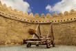catapult Turkish Mancinik Icheri Sheher Old Town Baku Azerbaijan - 72040956