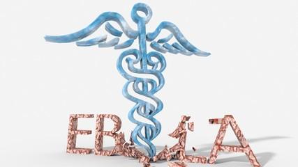 Medicina che travolge virus ebola