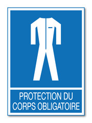 Panneau protection du corps.