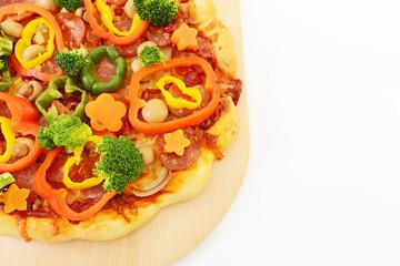 美味しそうなピザ
