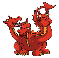 Drago With Three head