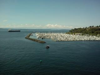 Boat Harbor in Seattle