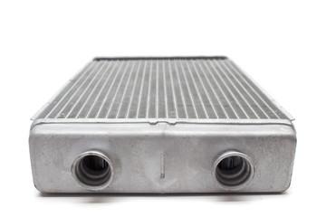 car radiator heater isolated on white background