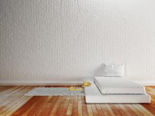 part of a minimalist interior,