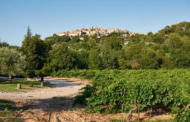 Grambois village, Provence, France