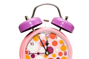 half alarm clock