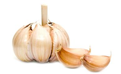 garlic with teeth