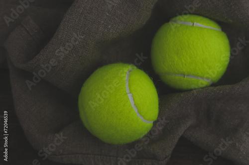 Staande foto Stierenvechten Tennis balls