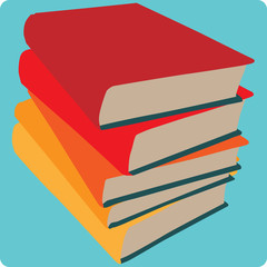 Stacked Books Icon