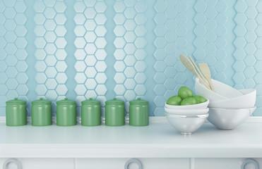 Ceramic kitchenware.