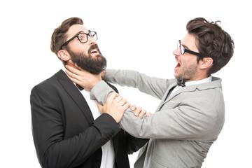 2 Männer im Anzug