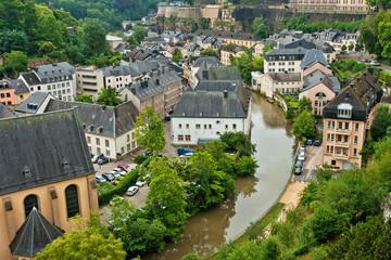 Luxembourg City Panorama
