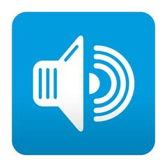 Etiqueta tipo app sonido