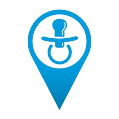 Icono localizacion chupete