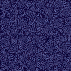 Seamless (you see 4 tiles) paisley background