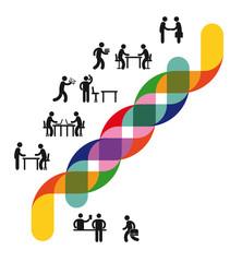 Entwicklung und Zusammenarbeit