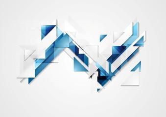 Bright hi-tech geometry background
