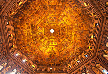 Baptistery of Florence, Italy