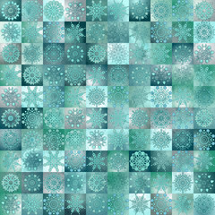 Seamless vintage pattern background with delicate ornament.