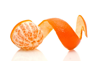 mandarine is in a spiral