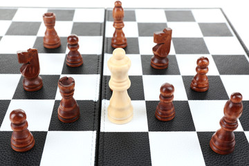 Individuality chess concept