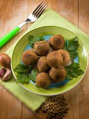 vegetarian lentils meatballs