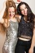 Obrazy na płótnie, fototapety, zdjęcia, fotoobrazy drukowane : Party girls having fun