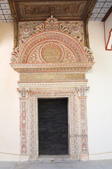 oldest gate Portal Demir Kapy in Khan's Palace