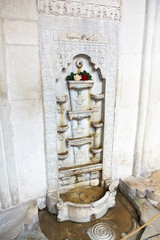 marble Bakhchisaray Fountain in Khan's Palace