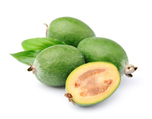 Sweet feijoa fruits
