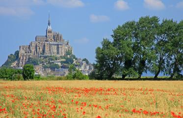 Mont Saint Michel Bretagne Frankreich