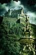 Edinburgh Castle Vintage look
