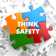 Think Safety on Multicolor Puzzle.