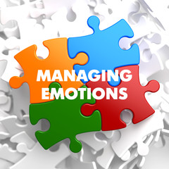 Managing Emotions on Multicolor Puzzle.