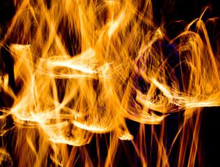 Carnival Light Flaming Trails