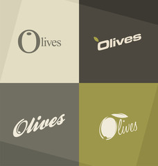 Olives minimalistic design concepts