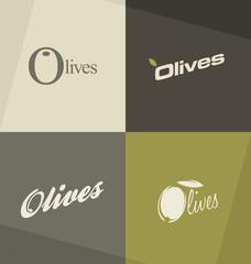 Olives minimalistic design concepts